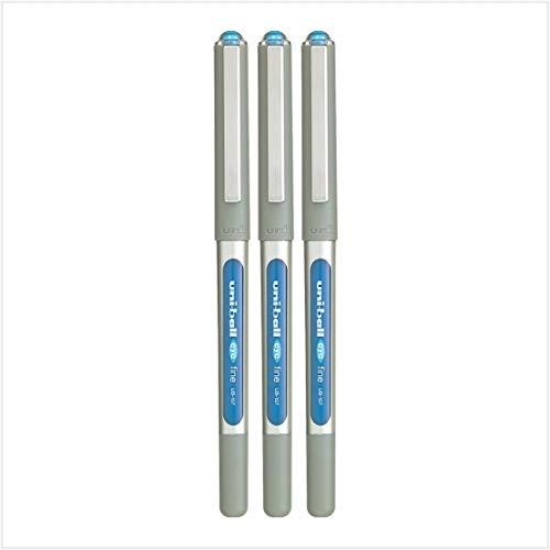 3 x uni-ball Eye UB-157 a sfera penna fine (0.7MM) MIX - PARTITA opzione DISPONIBILI - Blu Chiaro