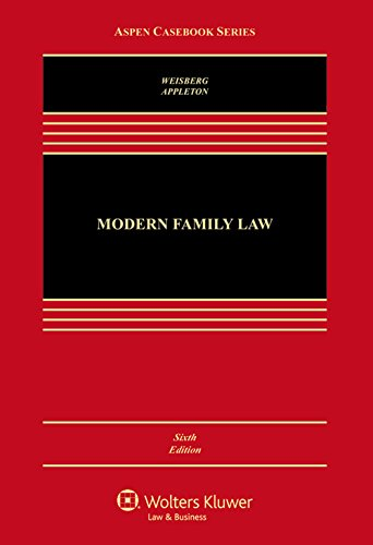 Download Modern Family Law: Cases and Materials (Aspen Casebook) 1454870052