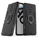 Max Power Digital Funda para móvil Realme X2 Pro (6.5') con Soporte Anillo Metálico - Carcasa Híbrida Antigolpes Resistente (Realme X2 Pro, Negro)