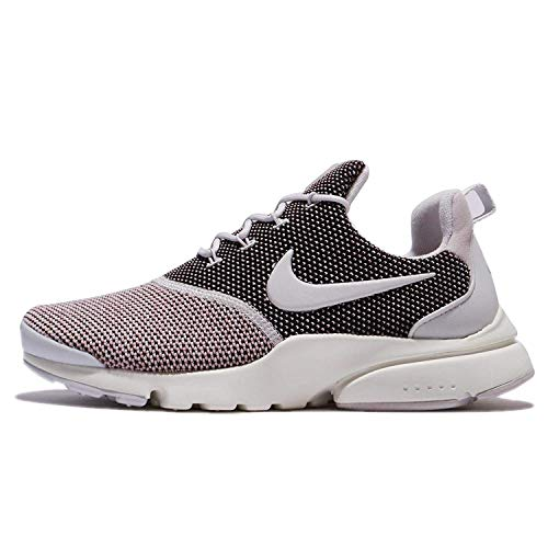 Nike Womens Presto Fly Fabric Low Top Lace Up Running Sneaker, Grey, Size 9.0