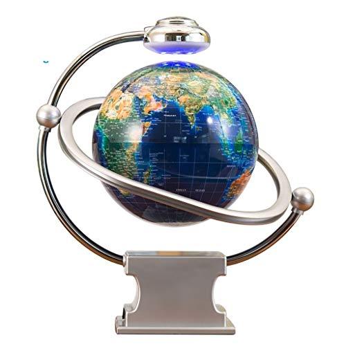 Wereldbol Maglev bol Luminous rotatie creatief decoratie 20MM Globe van Perfect Spinning Globe for Kids Geografie Studenten Docenten Gemakkelijke swivel