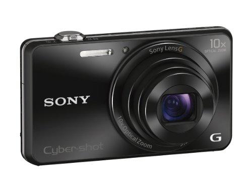 Sony DSCWX220/B 18.2 MP Digital Camera with 2.7-Inch LCD (Black)