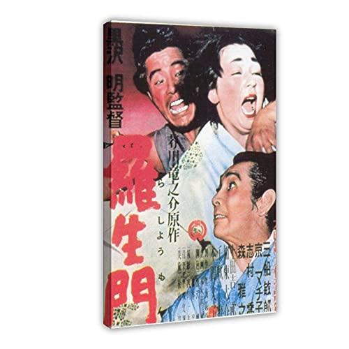 RBIX Póster de película Rashomon – Akira Kurosawa Leinwand 2 ~ 1...