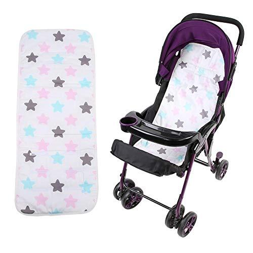 Baby Kinderwagen Kussen Zacht Comfortabel Katoen Mat Pad Baby Kinderwagen Kussen voor Kinderstoel Auto Kinderwagen Stoel