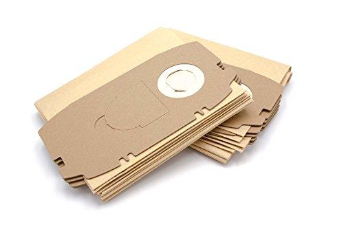 vhbw 10 Papier Staubsaugerbeutel Filtertüten für Staubsauger Saugroboter Festo/Festool CT, CT Mini, CTL Midi, CTL Mini, FIS-CT Mini, FIS-CTL Mini