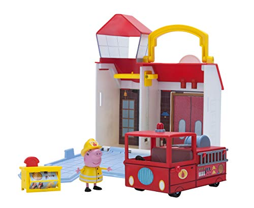 Peppa Pig Fire Station Combo Pack