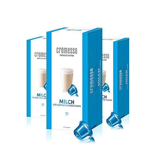Cremesso - Milch für Kaffeekompositionen 3er Pack (48 Kapseln)