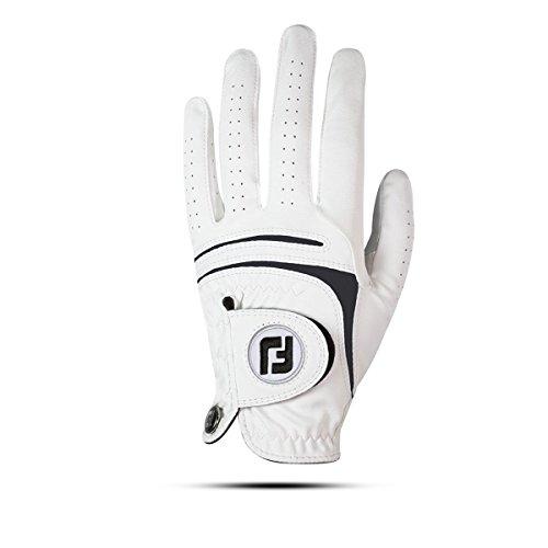 Footjoy 66245 Golfhandschuh für Herren, weiß, M/L
