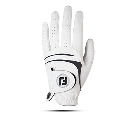 Footjoy WEATHERSOF 2018 Herren Golfhandschuh Linkshand (ML, Weiß)
