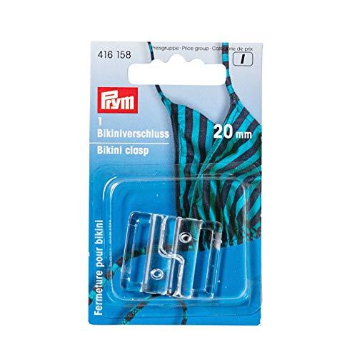 Prym Bikini Fermeture 20mm Transparent