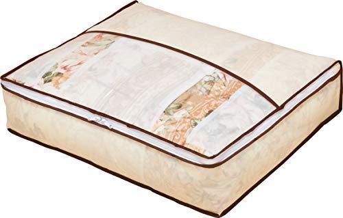 アストロ 羽毛布団 収納袋 シングル用 ベージュ 不織布 コンパクト 優しく圧縮 131-22