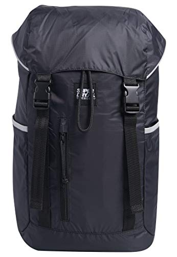 Superdry Top Load Pack Men's Backpack, Black, 11x45x29 Centimeters (B x H x T)