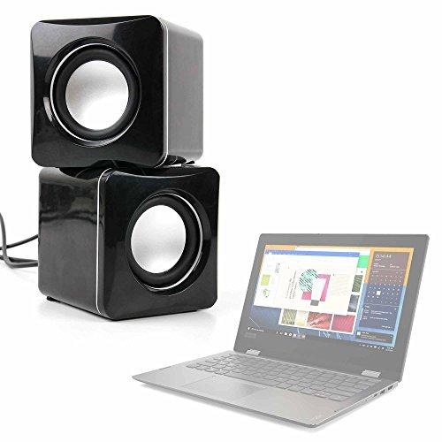 DURAGADGET Altavoces Compactos para Portátil Acer Aspire 5 A515-51G-54HF, Lenovo Yoga 330-11IGM...