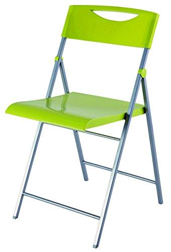 Preisvergleich Produktbild ALBA Klappstuhl,  Grün,  1 Stück