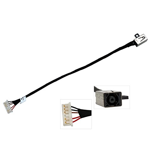 Best Compu CBK New DC Power Jack Harness Plug in Cable Socket for Dell 14-3451 14-i3451 3452 14-3452 14-i3452 450.03006.0001