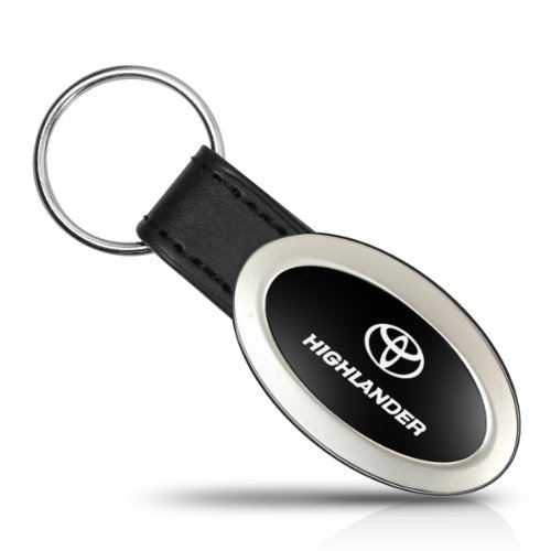 Toyota Highlander Porte-clés ovale en métal