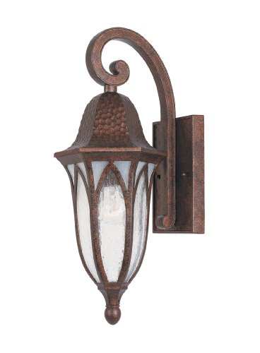 Designers Fountain 20611-BAC Berkshire Wall Lanterns, Burnished Antique Copper