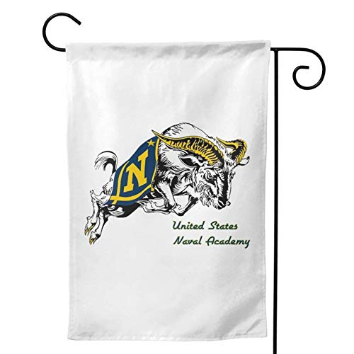 The Usna Rampaging Goat Double Sided Polyester Yard Flag Banner Lawn Outdoor Decoration