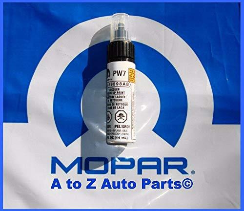 Chrysler / Dodge / Jeep BRIGHT WHITE C/C Touch Up Paint (PW7) 9598 Mopar OEM
