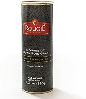 Mousse of Duck Foie Gras with 2% Truffle by Rougie (11.28 ounce)