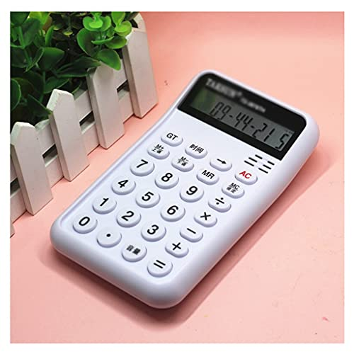 BENO Calculadoras De Oficina Calculadora De Funciones Estándar con 12 Dígitos Grandes LCD Mostrar Batería para El Cálculo (Voz) calculadora portatil