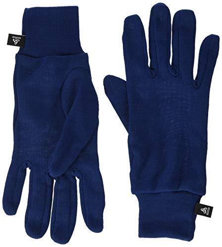 Odlo Gloves Originals Warm Kids Guantes, Infantil, Estate Blue, Extra-Small