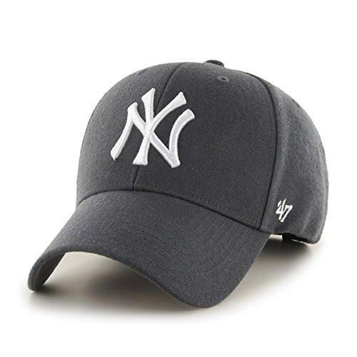 47 Unisex New York Yankees Kappe, (Charcoal), (Herstellergröße: One Size)