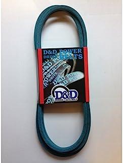 """D&D PowerDrive M91270 John Deere Kevlar Replacement Belt, 4LK, 1 -Band, 47"""" Length, Rubber"""