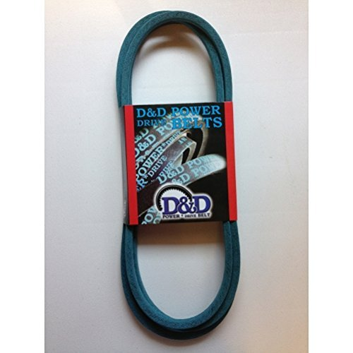 """D&D PowerDrive ORB-H-1121 Kevlar Craftsman AYP Sears 140294, 140067 Replacement Belt, 1/2"""" x 82"""", 4LK Section, Rubber"""
