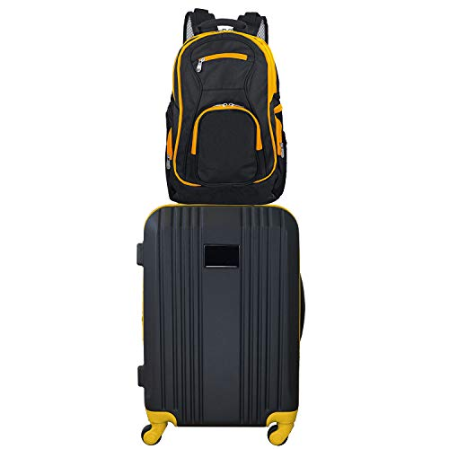 Fantastic Deal! Denco 2-Piece Luggage Set, Yellow