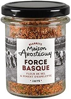 Force Basque, Flor de sal al pimiento de Espelette - 100 gr