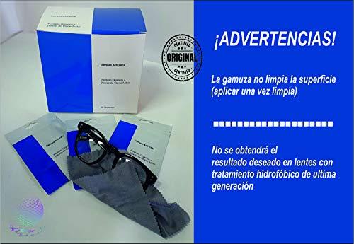 Gamuza Anti-vaho idónea para Gafas graduadas, Sol, Ciclista con mascarilla, no Necesita líquidos.