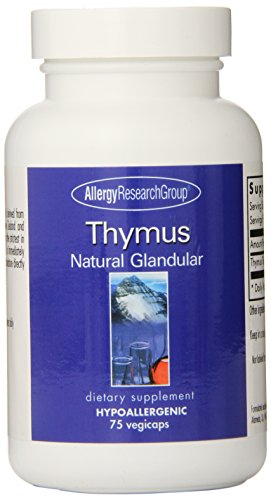 Allergy Research Group - Thymus 1000 mg 75 caps