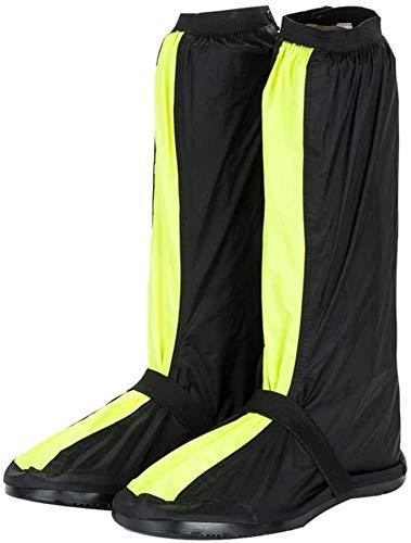 HYFDGV Cubrezapatillas De Ciclismo Cubierta A Prueba de Viento Bloqueo de Bicicletas Overshoes Rain Snow Boot Protector Pies Gaiter Overshoes Gaiters (Color : Green, Size : Small)