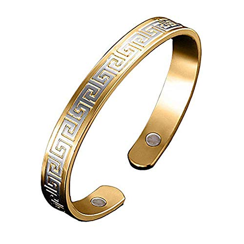 BD.Y Magnetic Healing Link Bracelet for Rheumatoid, Migraine & Pain Relief, Osteoarthritis, Menopause Support, Hot Flushes, Carpal Tunnel for Men & Women