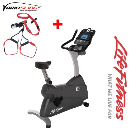 Life Fitness C3 Track Ergometer - Modell 2013/2014 - inkl. Vario Sling- Trainer