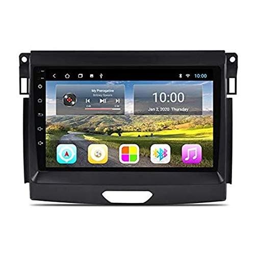 YLCCC Auto Stereo per Ford Ranger 2016-2019 Multimedia Player GPS Radio Radio Touch Screen Bluetooth Remoto Wireless Remoto FM AM Ricevitore Supporto WiFi Mirror Link,4 Core 4g+WiFi: 1+32gb