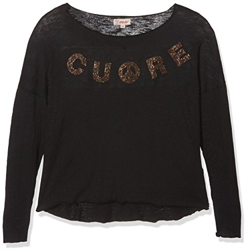 VITIVIC Cuore Negro, blouse Fille, Noir, 10 ans