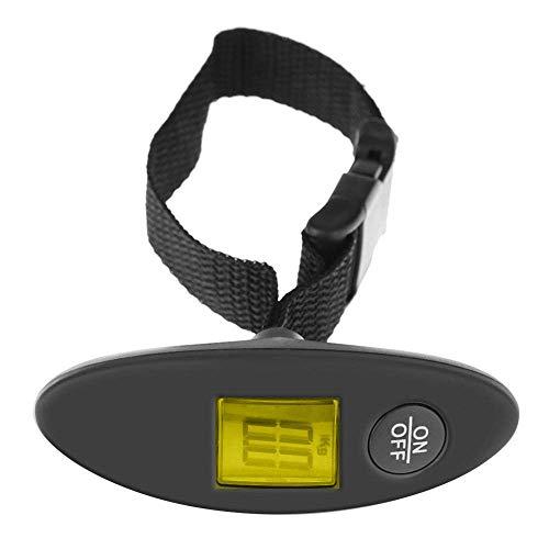 Relaxbx Jewelry Elektronische Waage, 40 kg, tragbar, zum Aufhängen, digitale Elektronik, Gepäck, Koffer, Reisetasche, LED-Hintergrundbeleuchtung, Präzisionswaage