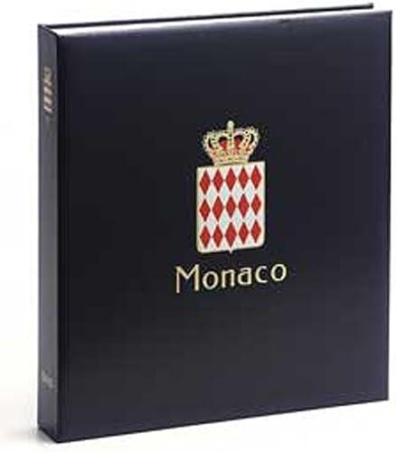 DAVO 6731 Luxus Briefmarken-Album Monaco I 1885-1969