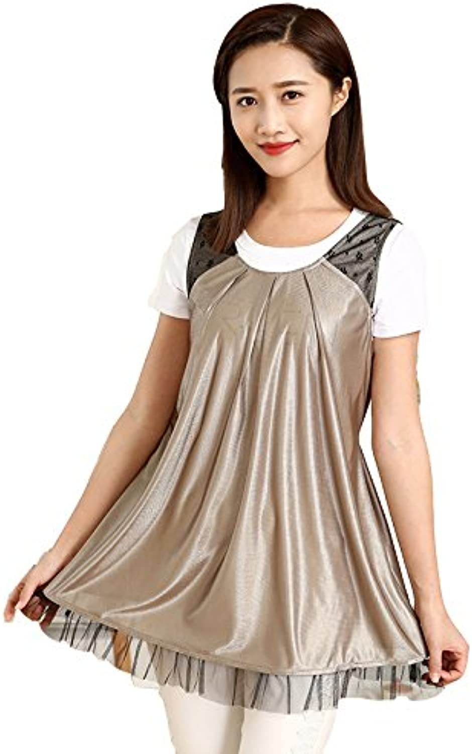 DMMSS Radiation Suit Maternity Dress Authentic Summer Dresses