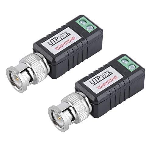 2pcs Caja Negra CCTV transceptor de Video pasivo de Canal ú