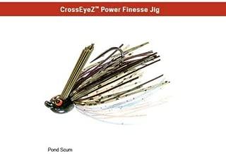 Z-Man CrossEyeZ Power Finesse Jig 3/8 oz Pond Scum CEPF38-05 ZMan Cross Eye