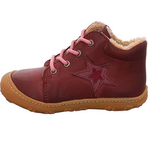RICOSTA Mädchen Boots ROMMI von Pepino, Weite: Mittel (WMS),gefüttert,Kids,Winterboots,Outdoor-Kinderschuhe,Fuchsia (362),21 EU / 4.5 Child UK