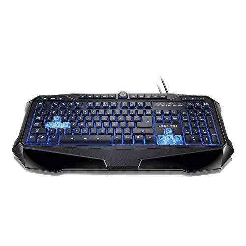 Warrior Keyboard Professional Gamer Black Usb Led - TC167