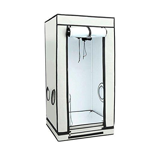 Armario de cultivo interior HOMEbox® Ambient Q80 PAR+ (80x80x160cm)