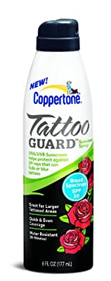The very best tattoo sunscreen products in 2018 inkdoneright for Best sunblock for tattoos