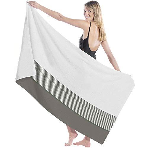 shenguang Toalla de baño Luxury Bath Towel Ultra Absorbent Bath Sheet,Irregular Stripe Quicky Dry Microfiber Shower Towels for Bathroom,Multipurpose Use for Hotel,Sports,Travel,Fitness,Yoga