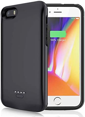 Battery Case for iPhone 5 5S SE 4000mAh Portable Protective Charging Case Compatible with iPhone product image
