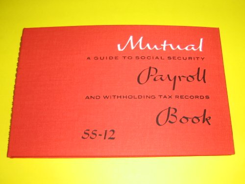 America's Approved Payroll Books, Mutual, Payroll Books, SS-12
